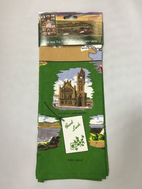 Irish Tea Towel - Linen Union Northern Ireland